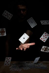 playing cards, ace, card game